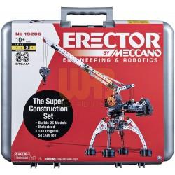 Meccano Erector by Meccano Super Construction 25-in-1 Building Set