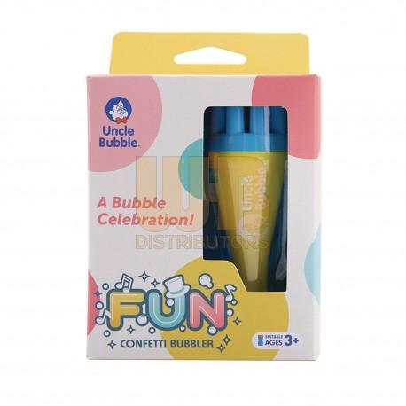 Uncle Bubble Fun Confetti Bubbler