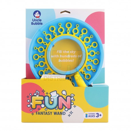 Uncle Bubble Fun Fantasy Wand